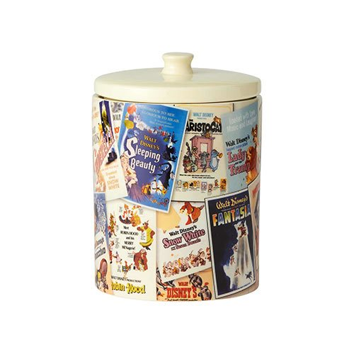 Disney Classic Film Posters Collage Cookie Jar