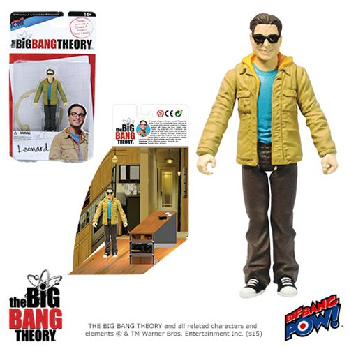 The Big Bang Theory Leonard 3 3/4-Inch Action Figure Series 1
