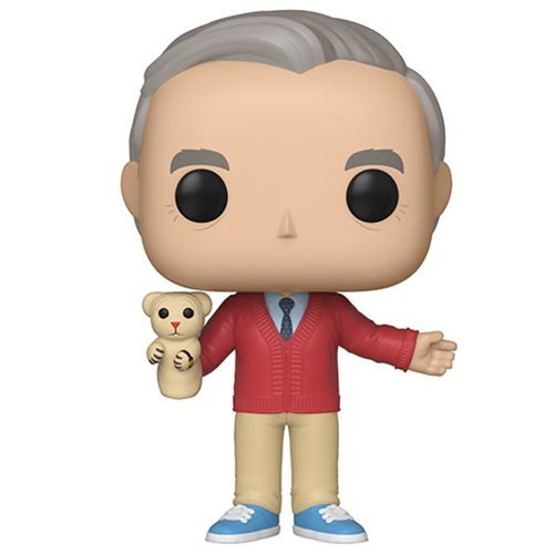 A Beautiful Day in the Neighborhood Mr. Rogers Pop! Vinyl Figure
