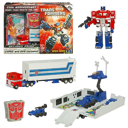 Transformers 25th Anniversary Optimus Prime