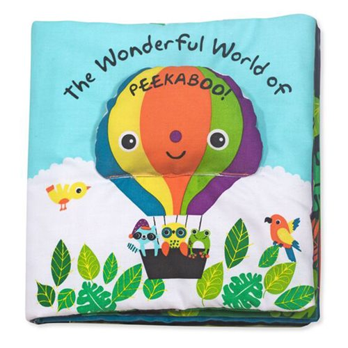 Melissa & Doug The Wonderful World of Peekaboo! Soft Activity Book