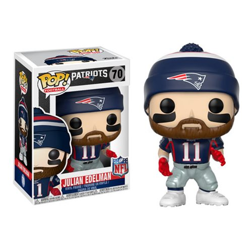NFL Julian Edelman Patriots Home Wave 4 Pop! Vinyl Figure #70