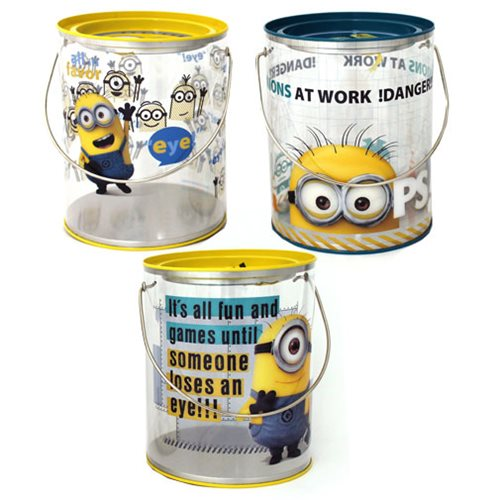 Despicable Me Clear Bucket Set