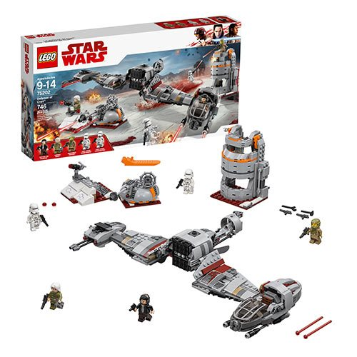 LEGO Star Wars 75202 Defense of Crait