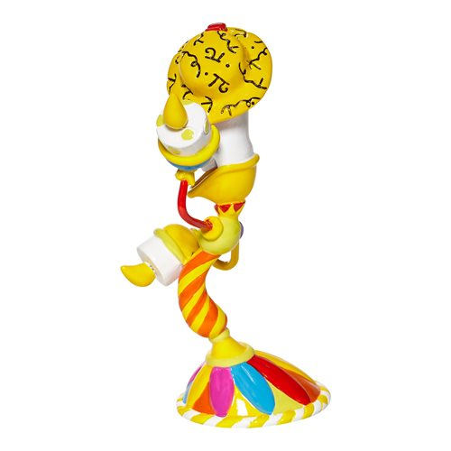 Disney Beauty and the Beast Lumiere by Romero Britto Mini Statue