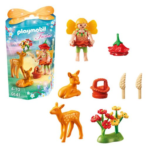 Playmobil 9141 Fairy Girl with Fawns
