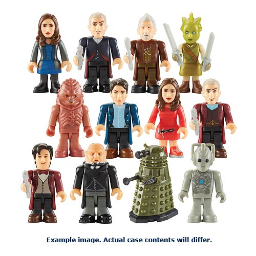 Doctor Who Character Building Mini-Figure Series 4 6-Pack