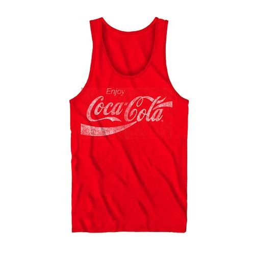 Coca-Cola Enjoy Red Tank Top