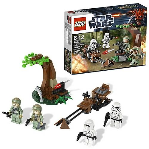 LEGO Star Wars 9489 Endor Rebel Trooper & Imperial Trooper