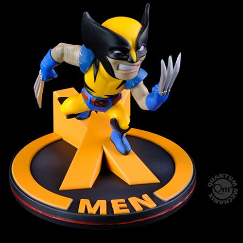 X-Men Wolverine Marvel 80th Anniversary Diorama Q-Fig
