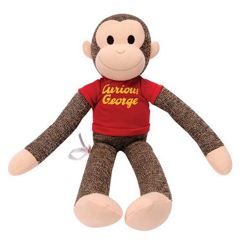 Curious George 21-Inch Sock Monkey Plush