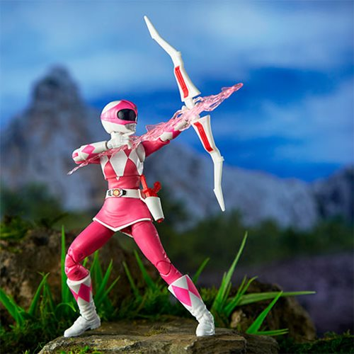 Power Rangers Lightning Collection Mighty Morphin Power Rangers Pink Ranger 6-Inch Action Figure