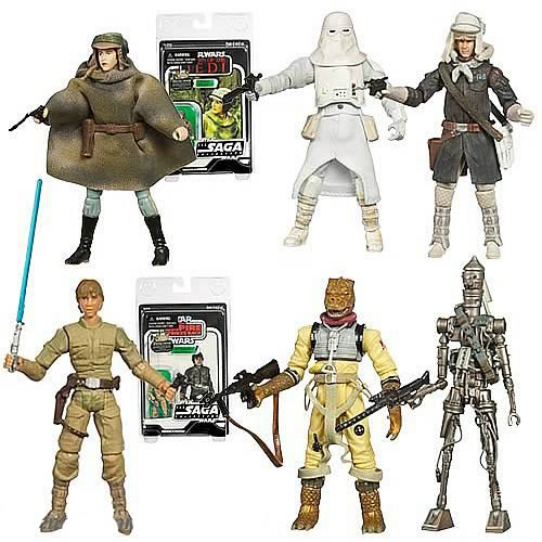 Star Wars 2007 Vintage Action Figures Set