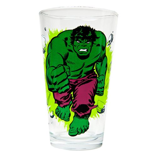 Hulk Classic Collection Toon Tumbler Pint Glass