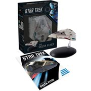 Star Trek Starships Delta Flyer Vehicle with Collector Magazine