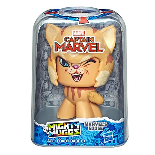 Captain Marvel Mighty Muggs Goose the Cat Action Figure