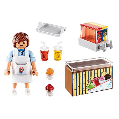 Playmobil 70251 Special Plus Street Vendor Action Figure