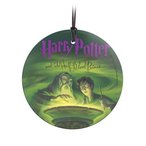 Harry Potter The Half-Blood Prince StarFire Prints Hanging Glass Ornament
