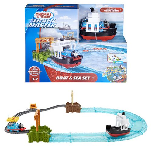 Thomas & Friends Track Master Boat and Sea Playset
