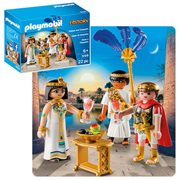 Playmobil 9169 History Caesar and Cleopatra Action Figures