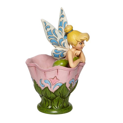 Disney Traditions Tink Sitting in Flower A Spot of Tink by Jim Shore Statue