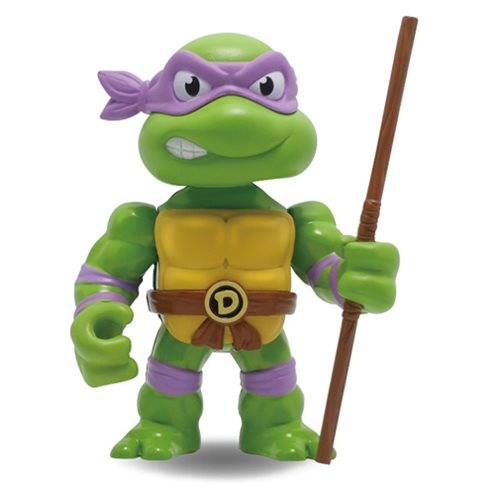 Teenage Mutant Ninja Turtles Donatello 4-Inch Metals Die-Cast Action Figure