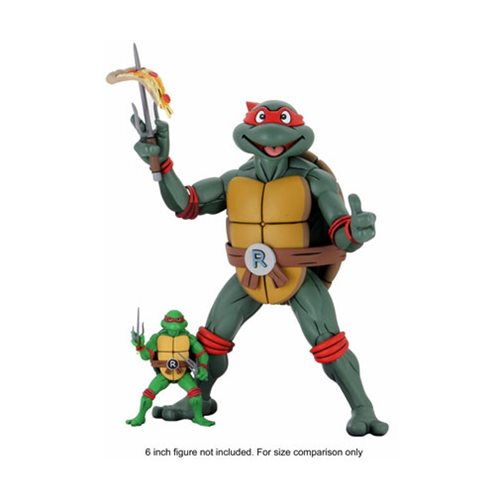 Teenage Mutant Ninja Turtles Raphael Cartoon Ver. 1:4 Scale Action Figure