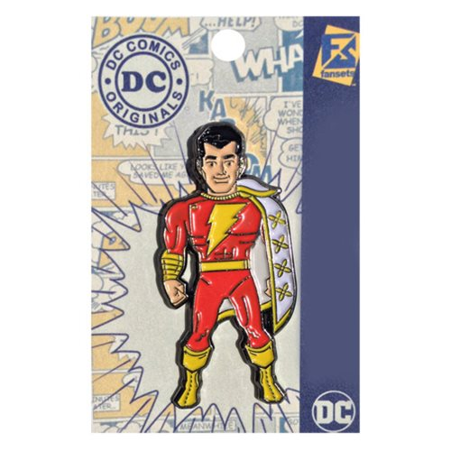 DC Comics Captain Marvel Shazam Pin