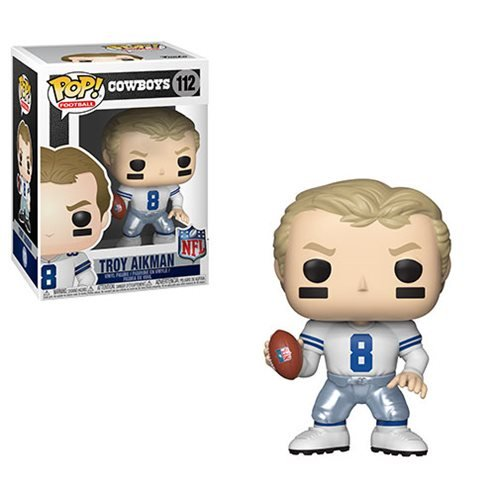 NFL Legends Troy Aikman Pop! Vinyl Figure #112