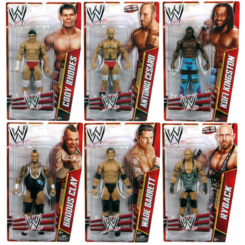 WWE Basic Figure Series 27 Action Figure Case