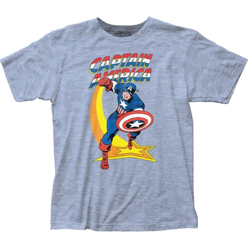 Captain America Star Punch T-Shirt