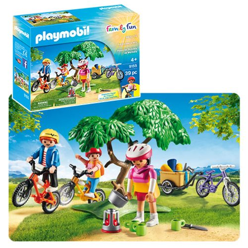 Playmobil 9155 Biking Trip Action Figures
