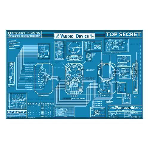 Warehouse 13 farnsworth blueprint replica entertainment earth warehouse 13 farnsworth blueprint replica malvernweather Choice Image