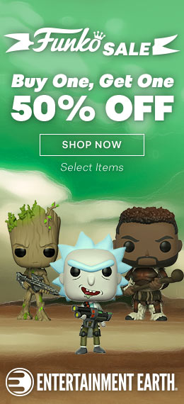 Entertainment Earth Funko Promotion - Buy One Get One 50% Off Select Funko Merchandise