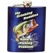 My Drinking Buddies Hip Flask