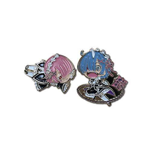 Re:Zero Rem and Ram Pins