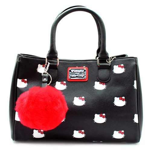 Hello Kitty Head Print Purse