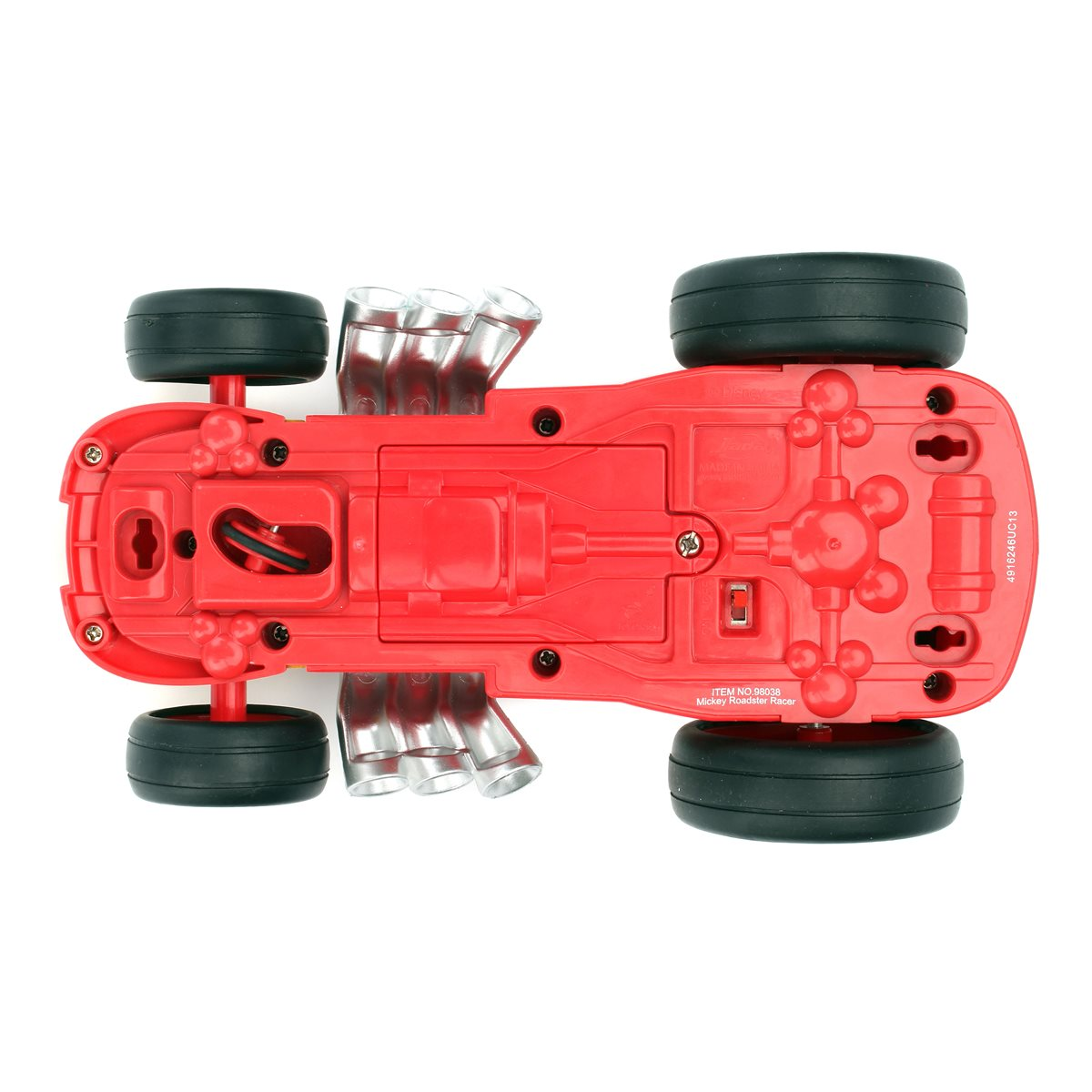 Disney Mickey Mouse Roadster Racer Rc Vehicle
