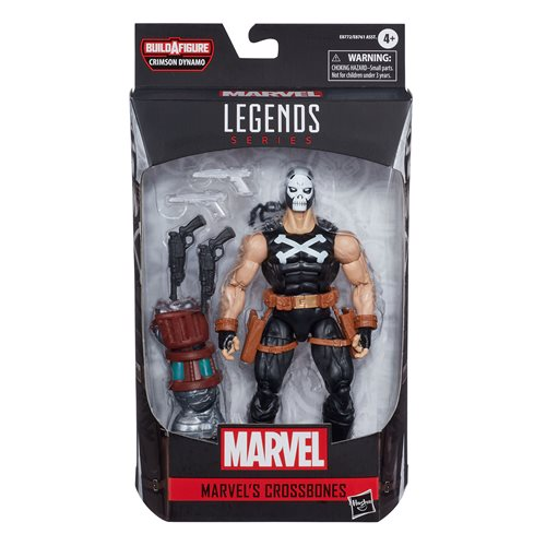 Black Widow Marvel Legends 6-Inch Crossbones Action Figure