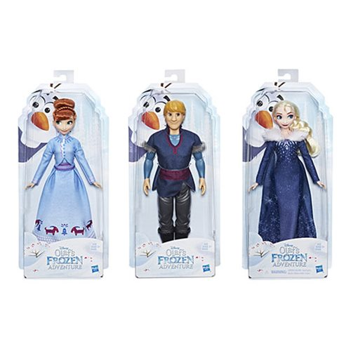 Disney Frozen Olaf's Frozen Adventure Dolls Wave 1 Case