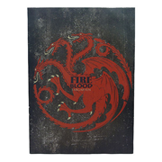 Game of Thrones Targaryen Sigil Canvas Art