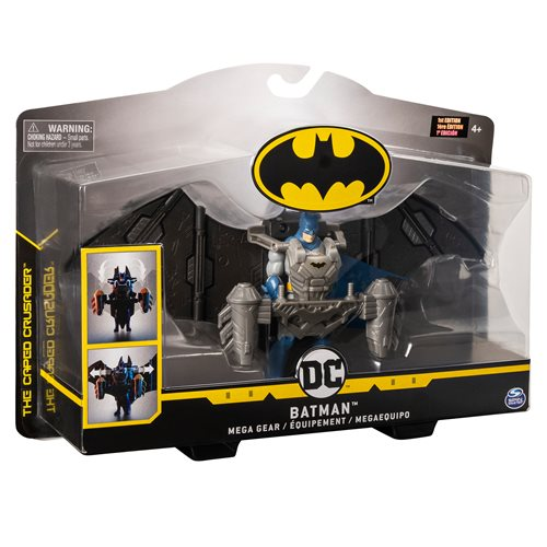 Batman 4-Inch Mega Gear Deluxe Action Figure