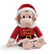 Curious George Holiday 12-Inch Plush