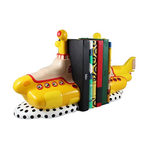 The Beatles Limited Edition Yellow Submarine Sculpted Ceramic Bookends
