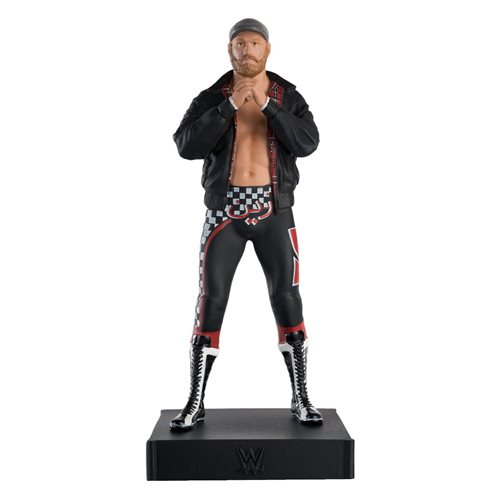 WWE Championship Collection Sami Zayn Statue with Collector Magazine