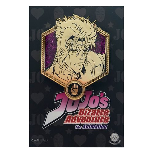 Jojo's Bizarre Adventure Golden Kakyoin Enamel Pin