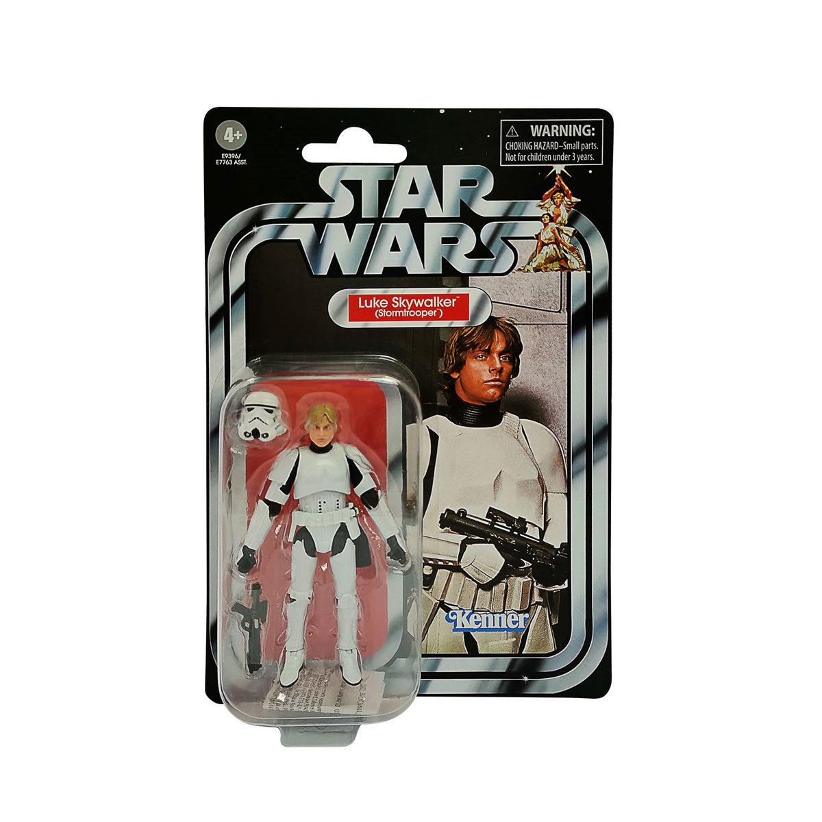 Star Wars The Vintage Collection Luke Skywalker Stormtrooper Disguise Figure