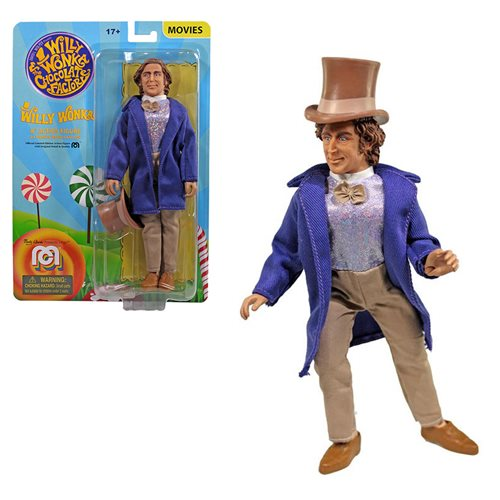 Willy Wonka Mego 8-Inch Action Figure