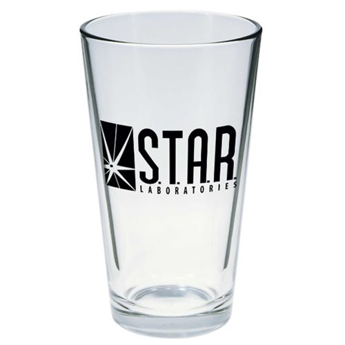 The Flash S.T.A.R. Labs Toon Tumbler Pint Glass