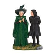 Harry Potter Village Snape and McGonagall Statue